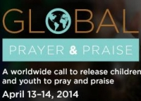 Global Prayer and Praise this coming Sunday and Monday